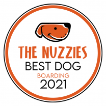 Best Dog Boarding Award - The Nuzzies
