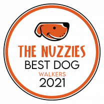 Best Dog Walkers Award - The Nuzzies